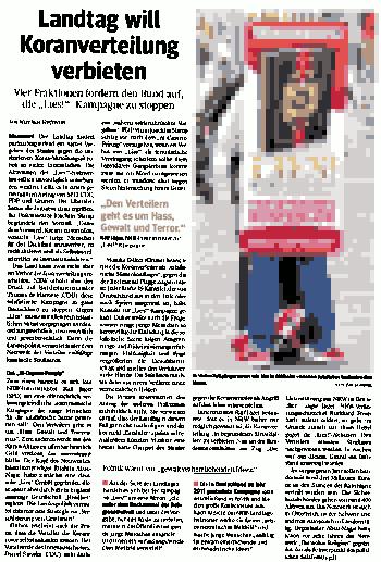 WAZ20161008-Koranverteilung.png