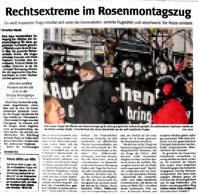 occupy bewegung maske